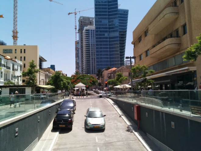 Tel Aviv parking ramp, Rothschild Street